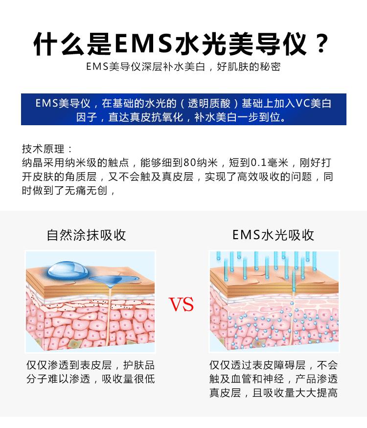 EMS美导仪深层补水美白,好肌肤的秘密