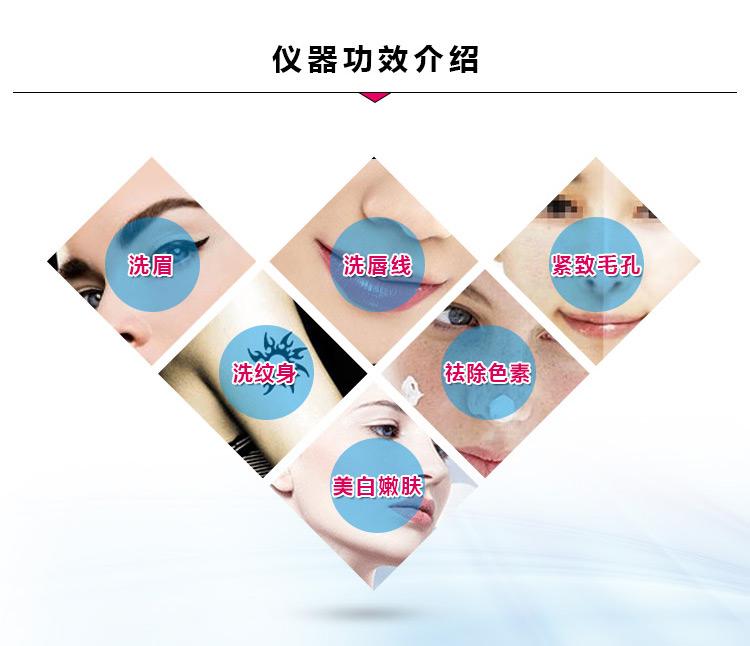 台式激光洗眉机你了解多少