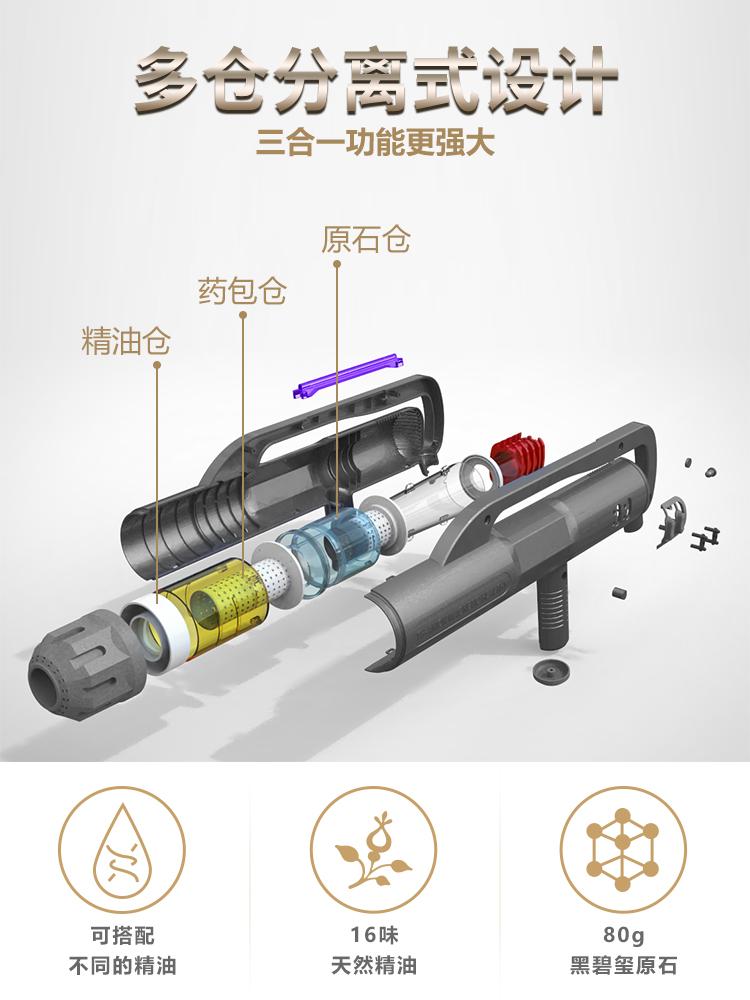 量子钛磁五行仪多仓分离式设计