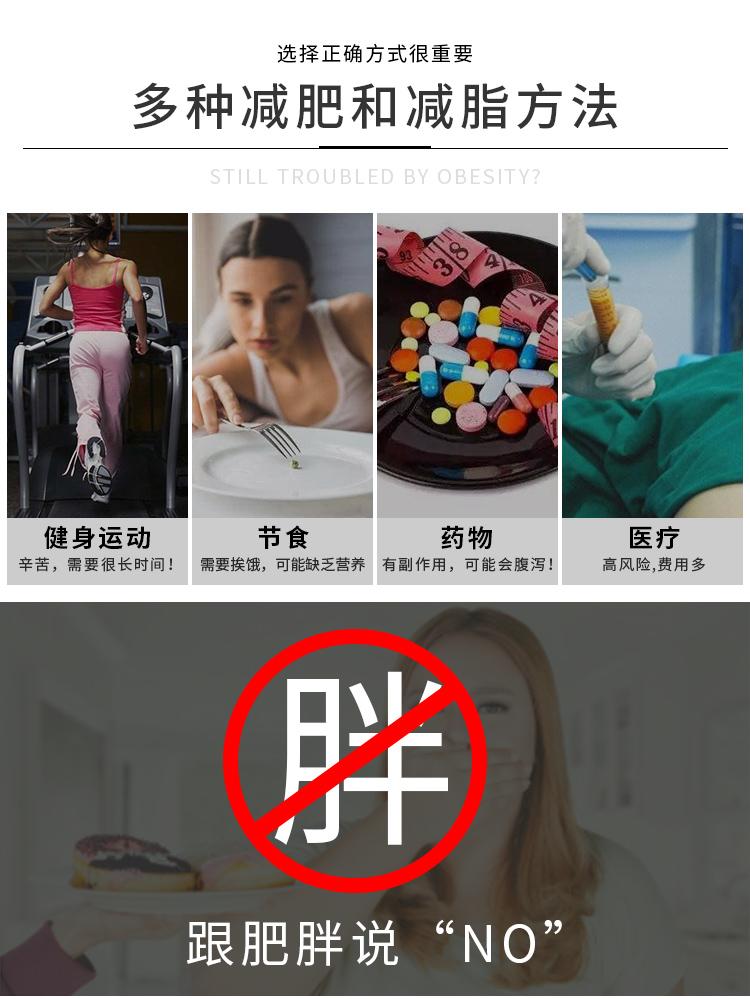 多种减肥方法对比