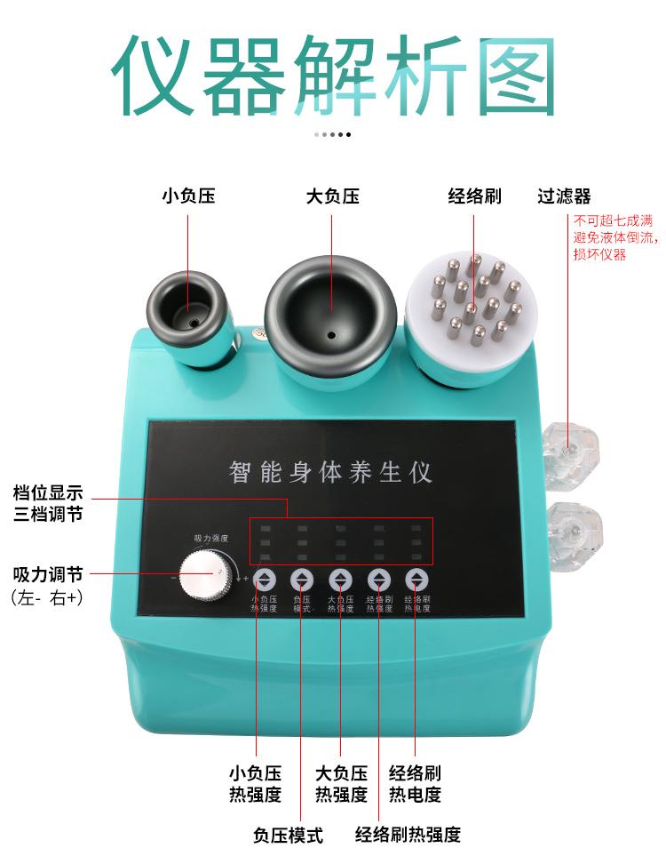 蓝精灵智能养生仪仪器解析