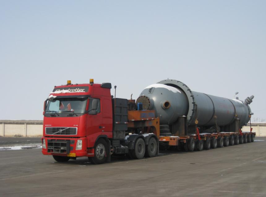 大件运输的行业发展及其特点