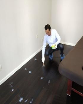 地板打蠟案例