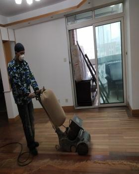 地板翻新案例