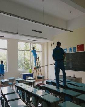 学校保洁案例