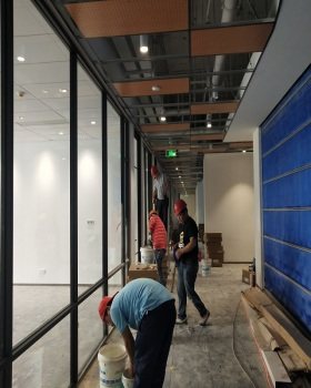 騰飛大廈辦公樓開荒保潔案例