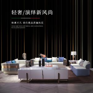 2021新品意式后現代輕奢大小戶型客廳家具CK112