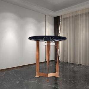 CK家具簡約現代邊幾桌意式輕奢小圓桌子邊桌801
