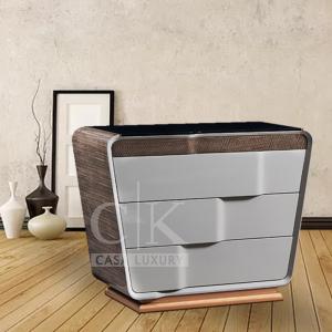 理享空間意式極簡輕奢斗柜 后現代裝飾柜 臥室電視柜收納CK905