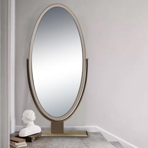 CK家具意式輕奢穿衣鏡家用試衣鏡簡約臥室品質奢華化妝鏡落地立式梳妝鏡CK101