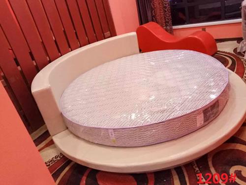 郑州酒店圆床实物图片