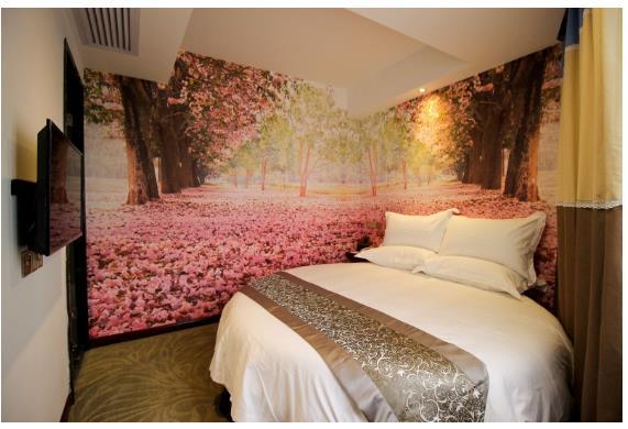 圆床有什么优点,酒店圆床
