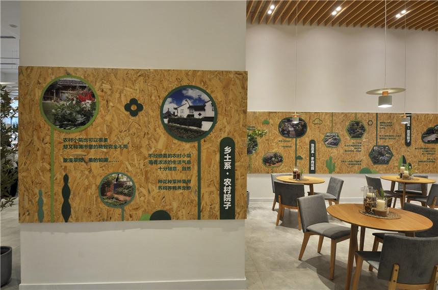 协信多利农庄文化墙4