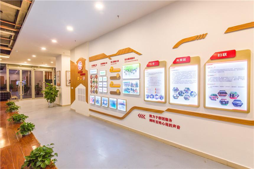 铜元局亚太商谷党群服务中心企业文化墙