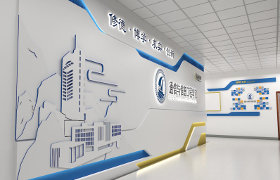 重庆企业形象墙设计