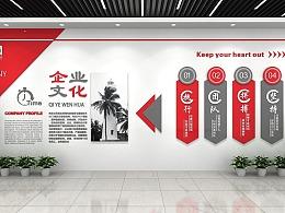 文化墙设计公司,文化墙创意设计