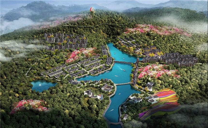 蓝田湖光小镇规划设计1