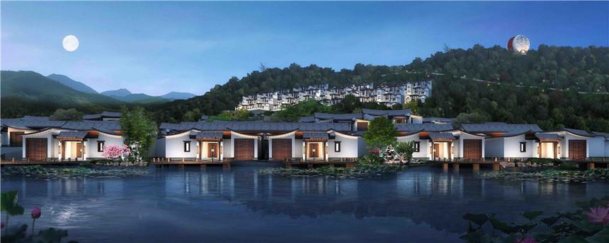 蓝田湖光小镇规划设计2
