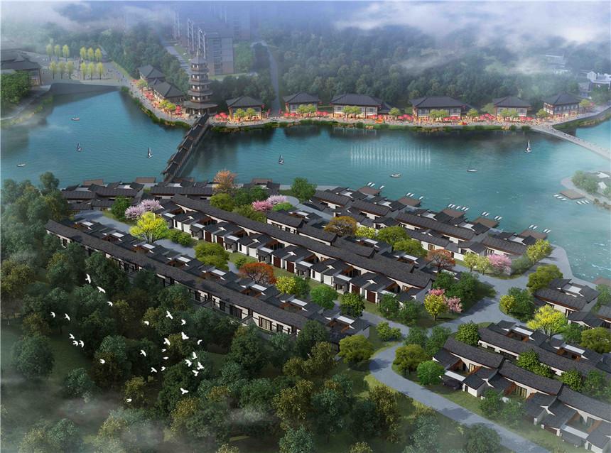 蓝田湖光小镇规划设计4