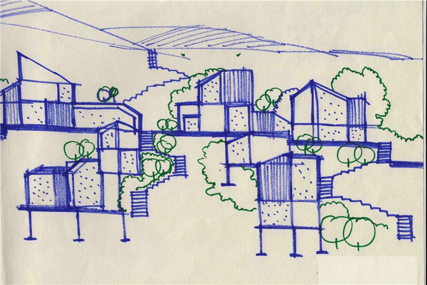 酉阳龚滩建筑设计