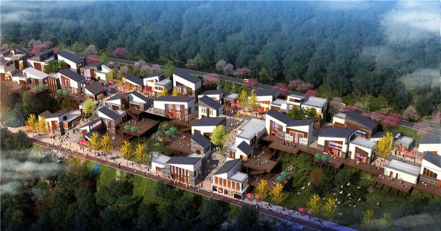 重庆度假村建筑规划设计