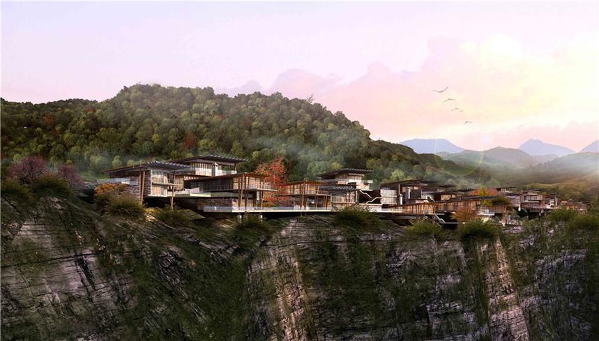贵州特色小镇建筑规划设计