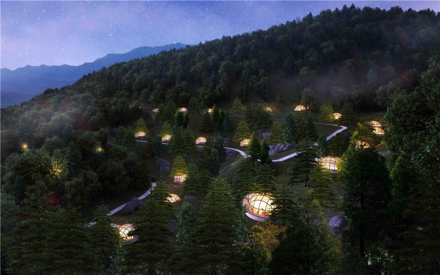 贵州度假别墅建筑规划设计