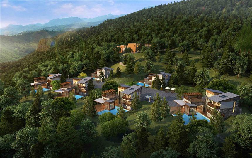 贵州度假村建筑规划设计