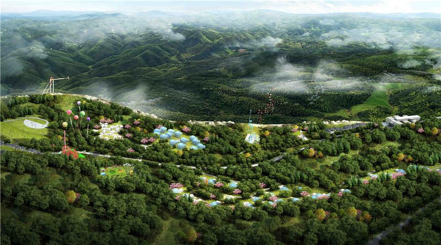酉阳龚滩度假村建筑设计