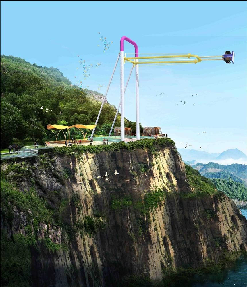 酉阳龚滩文化旅游景区建筑规划设计