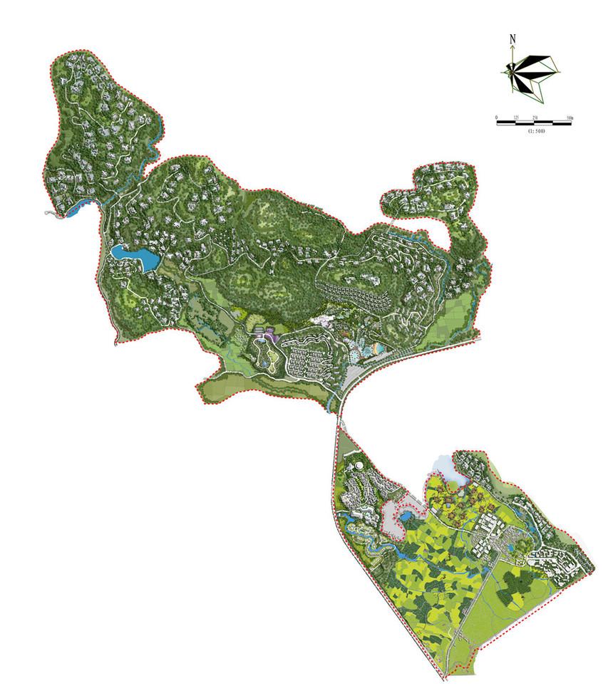 荔浦千乙城城市设计