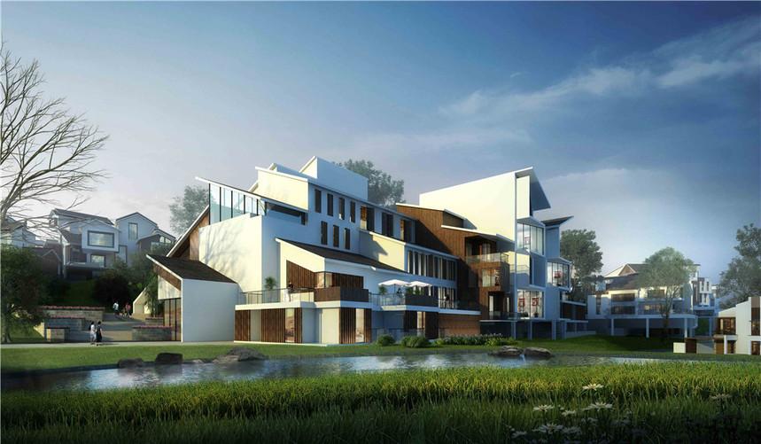 荔浦千乙城城市设计2