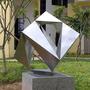 不锈钢雕塑--奥体中心