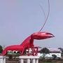 机械式可活动大型小龙虾不锈钢雕塑