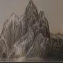 抽象不锈钢假山雕塑-宁波金科小区
