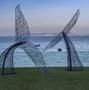 鐵藝鏤空編織動物雕塑