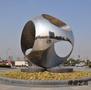 大型圓形鏡面不銹鋼雕塑