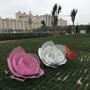 不銹鋼鏤空花朵---保定人民公園