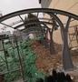 鋼結構車棚防雨棚--濟南華山瓏城