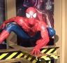玻璃钢蜘蛛侠雕塑--贵阳万达