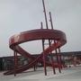 唐冶大型不銹鋼滑滑梯