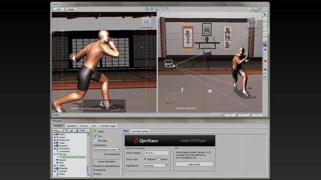 Insight VCS 实时捕捉虚拟摄像机
