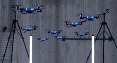 动作捕捉定位技术无人机——空中芭蕾