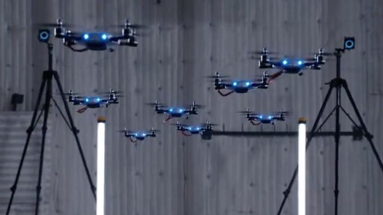 运动捕捉在无人机机器人领域的应用