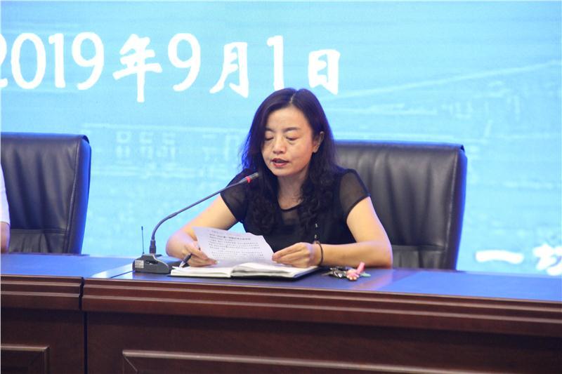 图4-副校长吴娜娜对所辖工作作安排部署.JPG