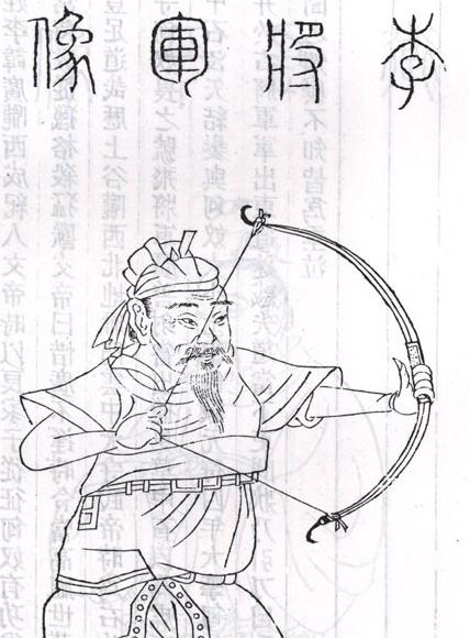 李氏家谱名人 飞将军李广
