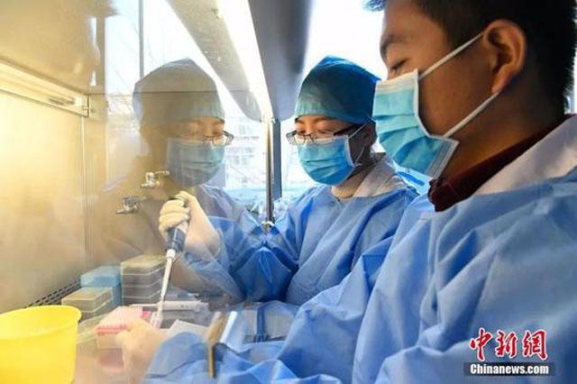 3疾控中心工作人员获得病毒毒株 韦亮 摄.jpg