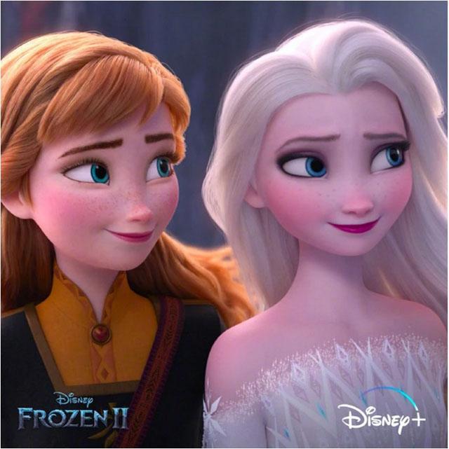 3月15日,迪士尼的动画大片《冰雪奇缘2》上线旗下流媒体Disney+.jpg