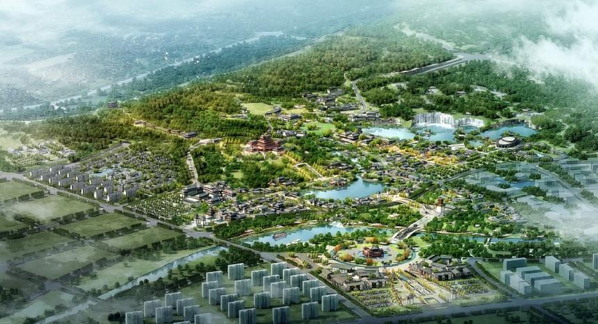市領導出席九里山生態修復暨大風歌城項目建設啟動儀式3.jpg