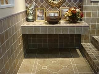 卫生间瓷砖美缝防水吗?